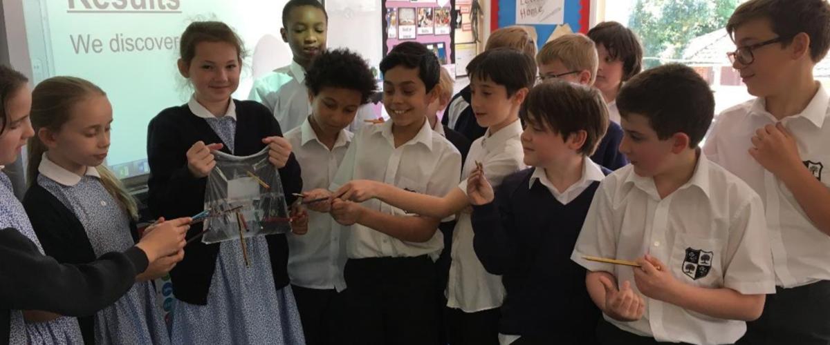 Sherrardswood School - A Matter of Pressure